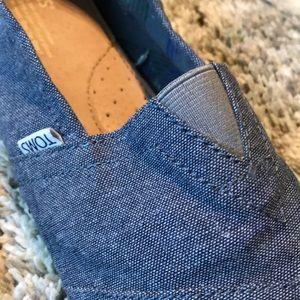 Denim Toms Shoes